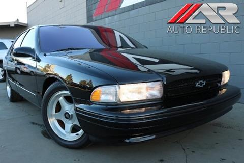 Used 1996 Chevrolet Impala For Sale Carsforsale Com