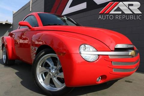 2003 Chevrolet SSR for sale in Fullerton, CA