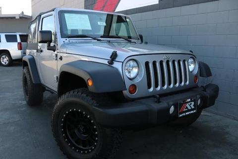 2013 Jeep Wrangler for sale in Fullerton, CA