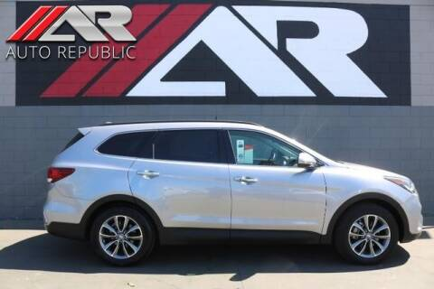 2017 Hyundai Santa Fe for sale at Auto Republic Fullerton in Fullerton CA