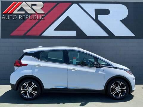 2017 Chevrolet Bolt EV for sale at Auto Republic Fullerton in Fullerton CA