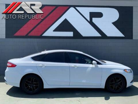2015 Ford Fusion for sale at Auto Republic Fullerton in Fullerton CA