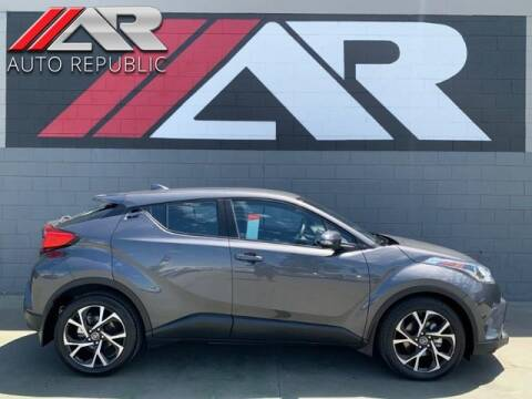 2018 Toyota C-HR for sale at Auto Republic Fullerton in Fullerton CA