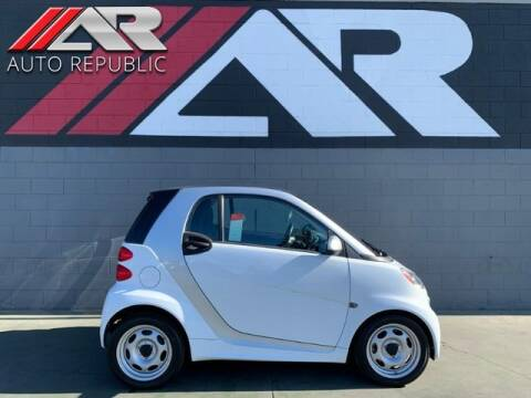2015 Smart fortwo for sale at Auto Republic Fullerton in Fullerton CA