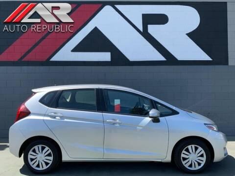 2016 Honda Fit for sale at Auto Republic Fullerton in Fullerton CA