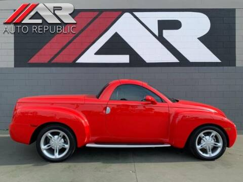 2005 Chevrolet SSR for sale at Auto Republic Fullerton in Fullerton CA