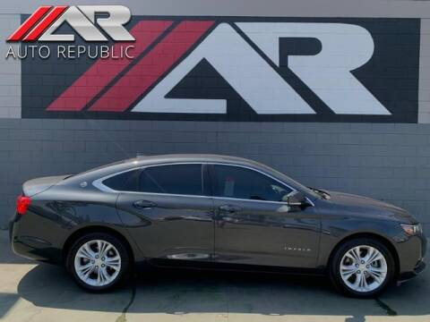 2014 Chevrolet Impala for sale at Auto Republic Fullerton in Fullerton CA