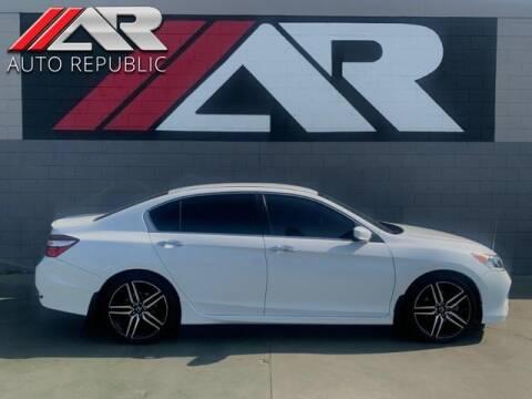 2017 Honda Accord for sale at Auto Republic Fullerton in Fullerton CA