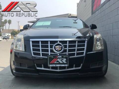 2012 Cadillac CTS for sale at Auto Republic Fullerton in Fullerton CA
