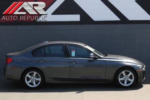 2015 BMW 3 Series for sale at Auto Republic Fullerton in Fullerton CA
