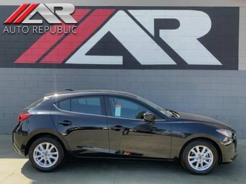 2015 Mazda MAZDA3 for sale at Auto Republic Fullerton in Fullerton CA