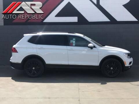 2018 Volkswagen Tiguan for sale at Auto Republic Fullerton in Fullerton CA
