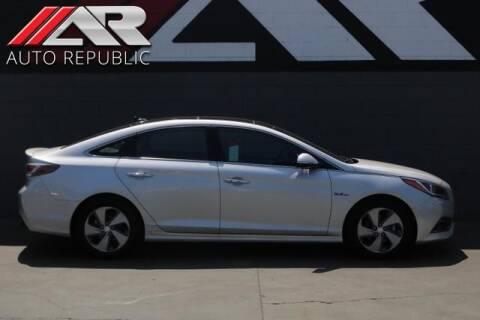 2016 Hyundai Sonata Hybrid for sale at Auto Republic Fullerton in Fullerton CA