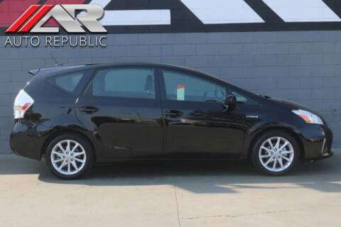 2014 Toyota Prius v for sale at Auto Republic Fullerton in Fullerton CA