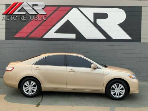 2010 Toyota Camry Hybrid for sale at Auto Republic Fullerton in Fullerton CA