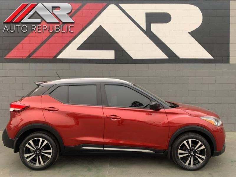 2018 Nissan Kicks for sale at Auto Republic Fullerton in Fullerton CA