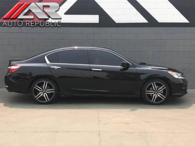 2016 Honda Accord for sale at Auto Republic Fullerton in Fullerton CA