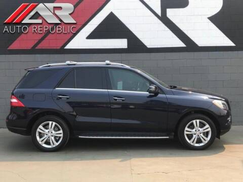 2013 Mercedes-Benz M-Class for sale at Auto Republic Fullerton in Fullerton CA