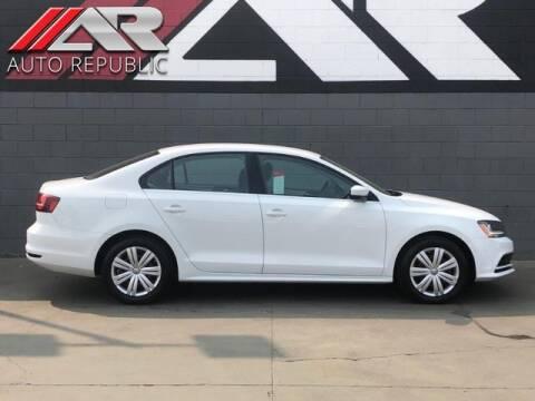 2017 Volkswagen Jetta for sale at Auto Republic Fullerton in Fullerton CA