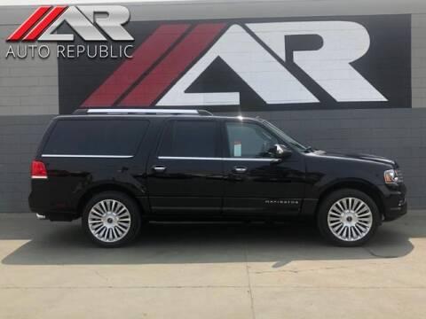 2017 Lincoln Navigator L for sale at Auto Republic Fullerton in Fullerton CA