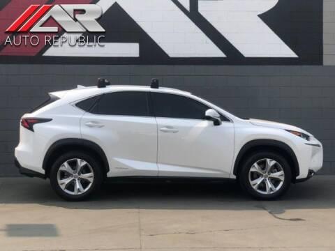 2017 Lexus NX 300h for sale at Auto Republic Fullerton in Fullerton CA