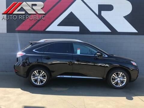 2010 Lexus RX 450h for sale at Auto Republic Fullerton in Fullerton CA