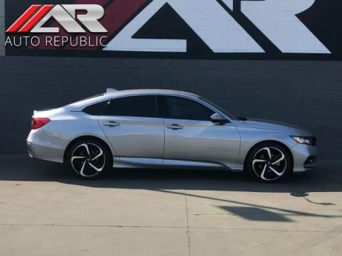 2018 Honda Accord for sale at Auto Republic Fullerton in Fullerton CA