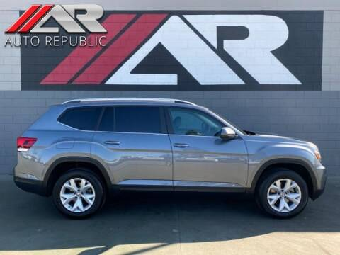 2018 Volkswagen Atlas for sale at Auto Republic Fullerton in Fullerton CA