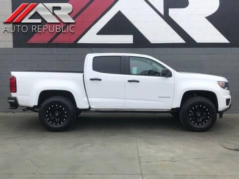 2017 Chevrolet Colorado for sale at Auto Republic Fullerton in Fullerton CA