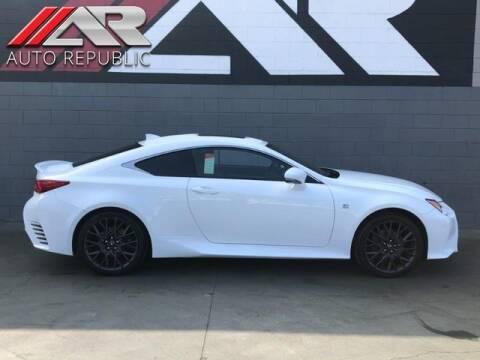 2015 Lexus RC 350 for sale at Auto Republic Fullerton in Fullerton CA