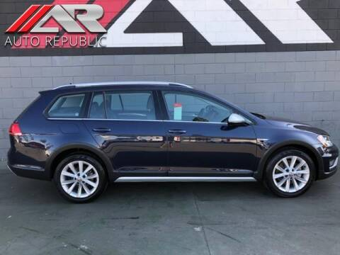 2017 Volkswagen Golf Alltrack for sale at Auto Republic Fullerton in Fullerton CA