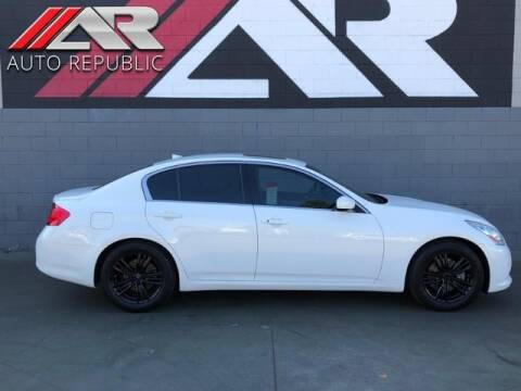 2013 Infiniti G37 Sedan for sale at Auto Republic Fullerton in Fullerton CA