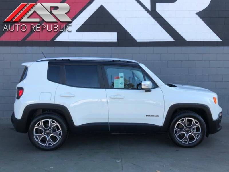 2016 Jeep Renegade for sale at Auto Republic Fullerton in Fullerton CA