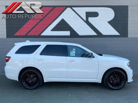 2015 Dodge Durango for sale at Auto Republic Fullerton in Fullerton CA