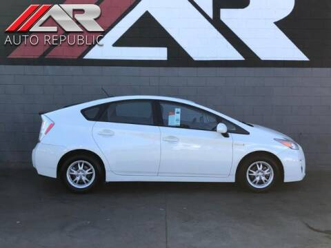 2011 Toyota Prius for sale at Auto Republic Fullerton in Fullerton CA