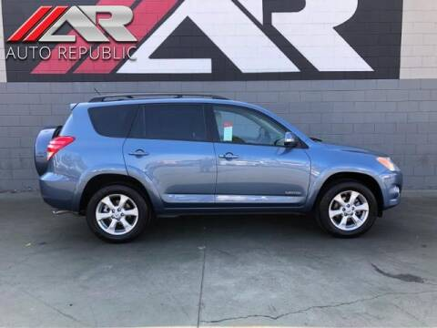 2009 Toyota RAV4 for sale at Auto Republic Fullerton in Fullerton CA
