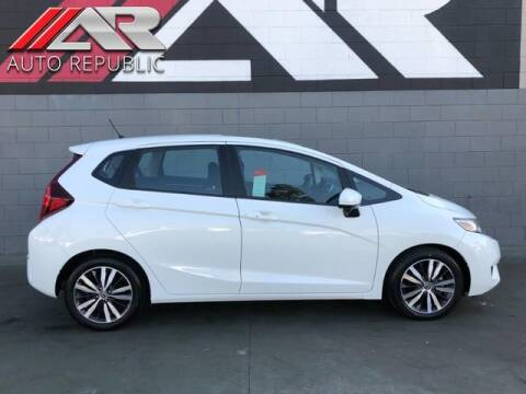 2017 Honda Fit for sale at Auto Republic Fullerton in Fullerton CA