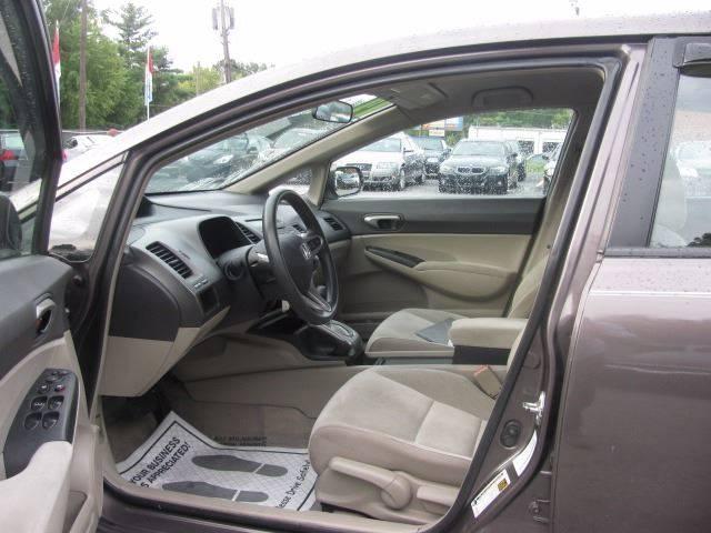 2011 Honda Civic LX 4dr Sedan 5A - Greensboro NC