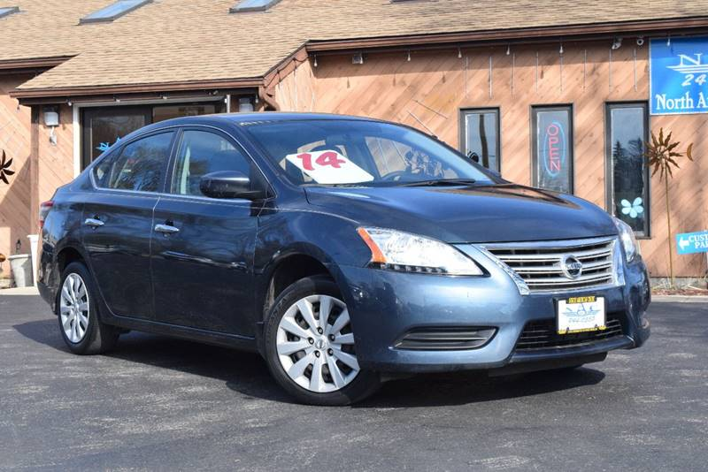 2014 Nissan Sentra For Sale At North American Credit Inc. In Waukegan IL
