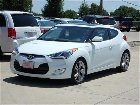 2012 Hyundai Veloster for sale in Des Moines, IA
