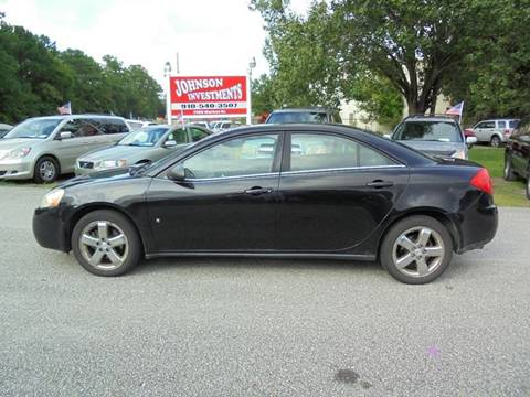 2008 Pontiac G6 for sale in Wilmington, NC