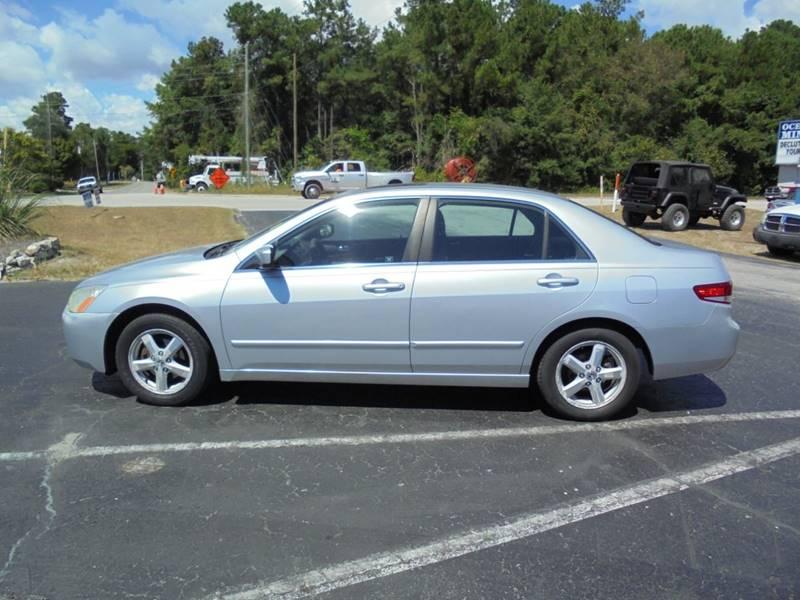2004 Honda Accord EX 4dr Sedan   Wilmington NC