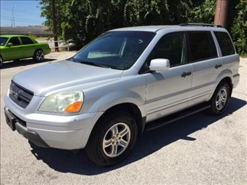 2003 Honda Pilot for sale at AARONS AUTOS in Temple TX