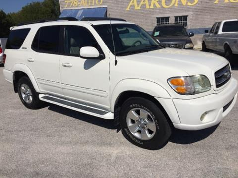 2002 Toyota Sequoia for sale at AARONS AUTOS in Temple TX