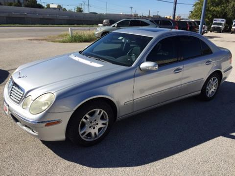 2003 Mercedes-Benz E-Class for sale at AARONS AUTOS in Temple TX