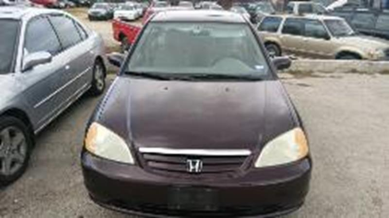 2001 Honda Civic for sale at AARONS AUTOS in Temple TX