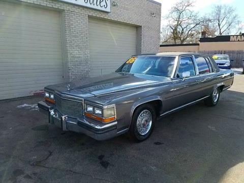 Cadillac Fleetwood For Sale >> 1986 Cadillac Fleetwood Brougham For Sale In Clinton Township Mi
