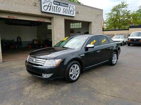 2009 Ford Taurus for sale at New Clinton Auto Sales in Clinton Township MI