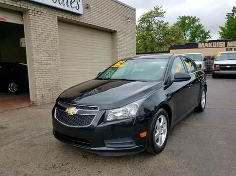 2012 Chevrolet Cruze for sale at New Clinton Auto Sales in Clinton Township MI
