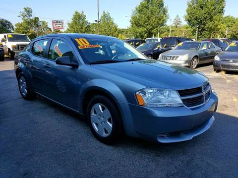 2010 Dodge Avenger for sale at New Clinton Auto Sales in Clinton Township MI
